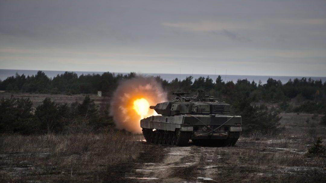 Strv 122, Gotland 2015. Foto: Jimmy Croona/Försvarsmakten