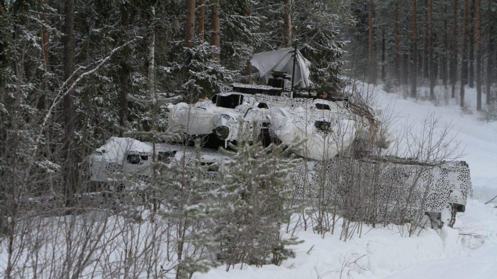 Strv 122, Foto: Mats Carlsson/Försvarsmakten