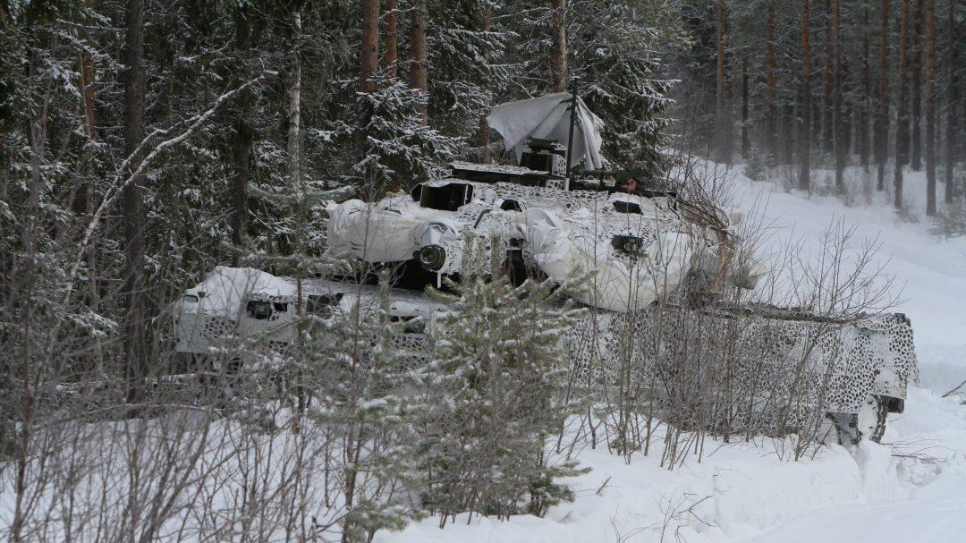 Strv 122, 2017. Foto: Mats Carlsson/Försvarsmakten