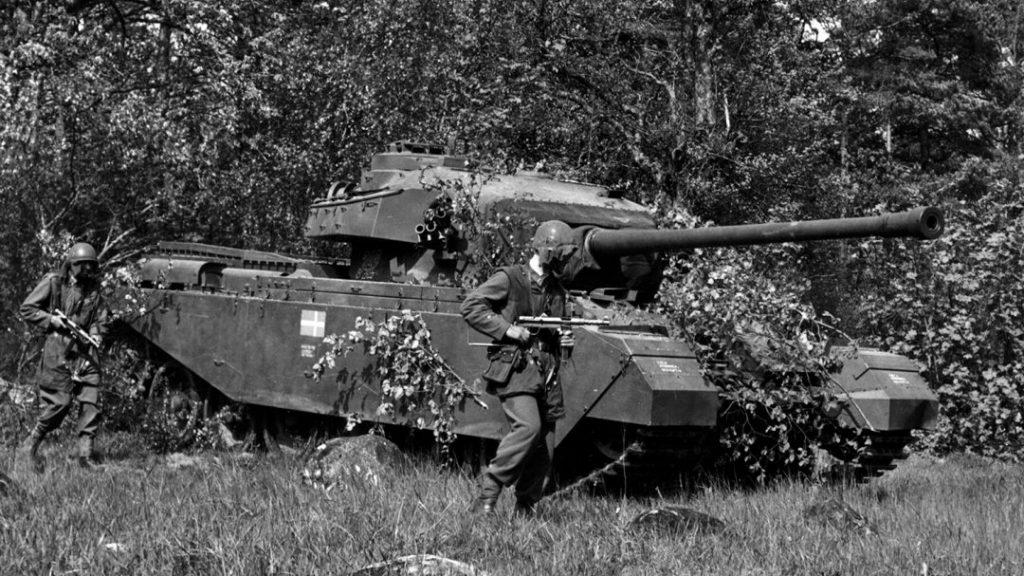 Strv 81 med A-eldrör