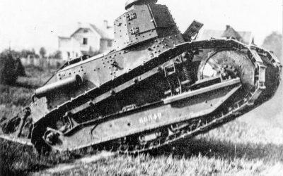 Sveriges första stridsvagn