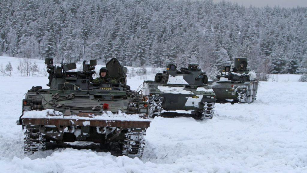 Bgbv 90, epbv 90, lvkv 90, Foto: Mats Carlsson/Försvarsmakten