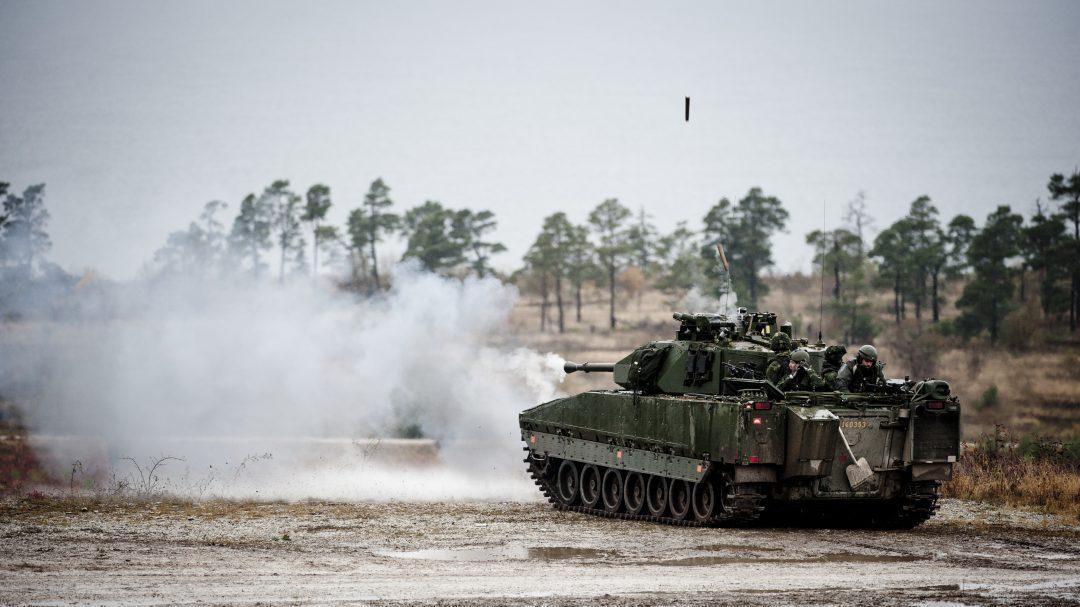 Strf 9040C, Foto: Daniel Klintholm/Försvarsmakten