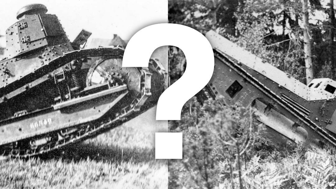Vilken var Sveriges första stridsvagn? Christer Baadstöe klargjorde för de senaste arkivfynden.