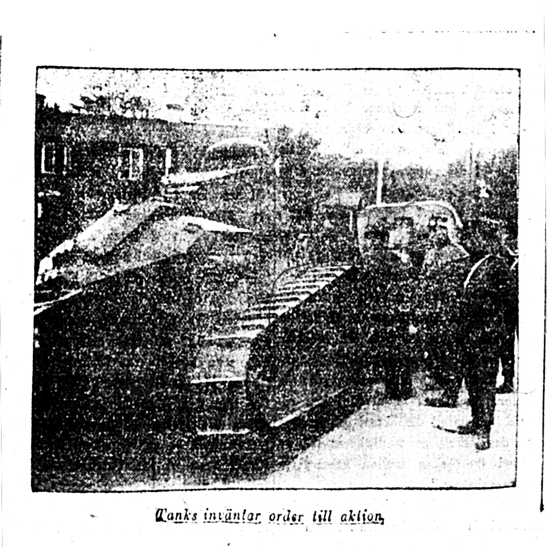 Photo in Aftonbladet 03/10/1921