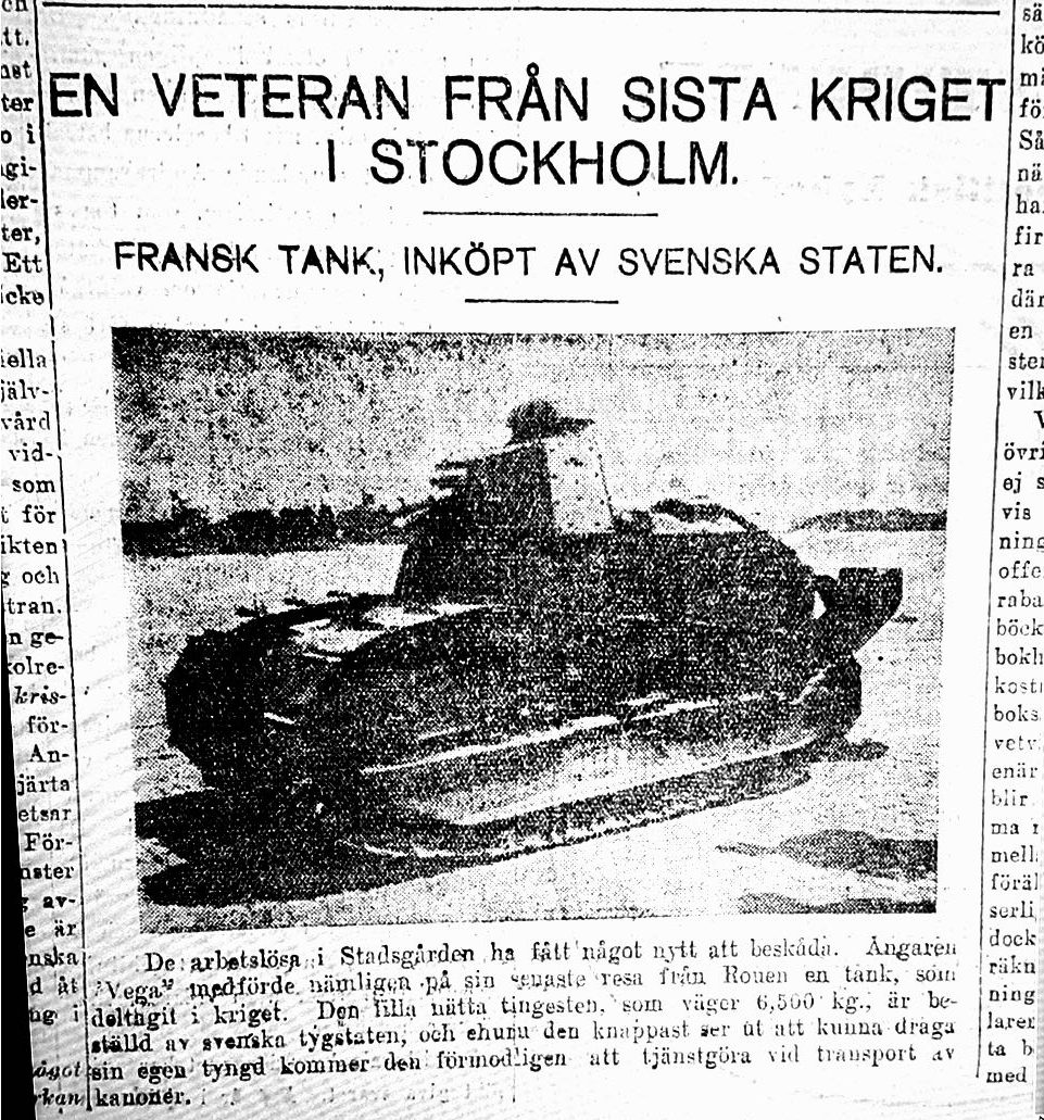 Aftonbladet 19/10/1921