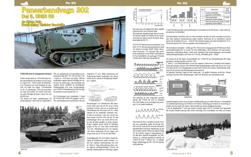 Femte artikeln om Pbv 302