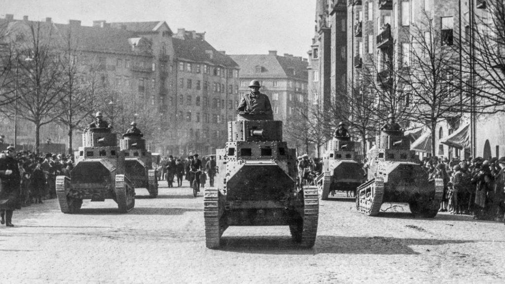 Stridsvagn m/21