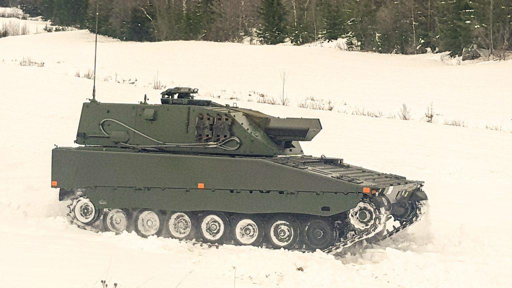 Grkpbv 90 förserievagn. Foto: Peter Öhman