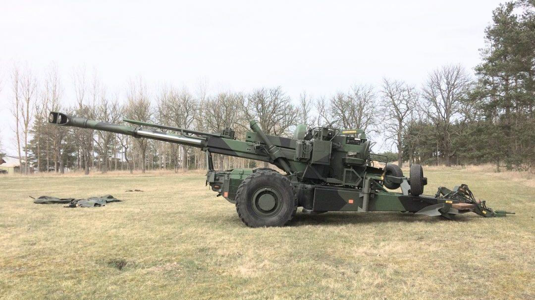 Artillerimuseet Haubits 77B