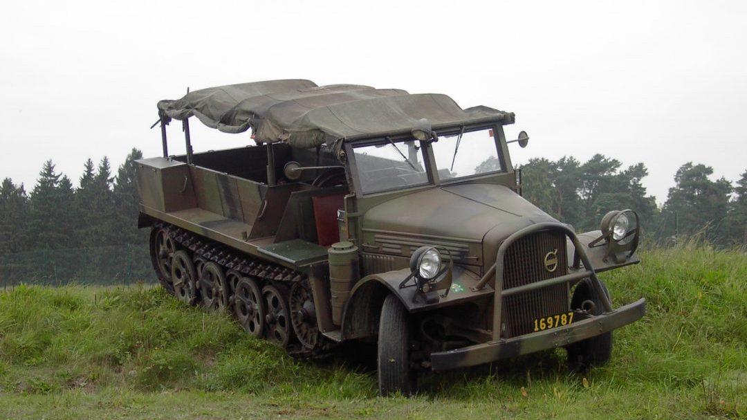 Artillerimuseet Volvo Artilleritraktor m/43