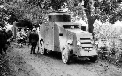 Ny fordonskategori: Pansarbilar