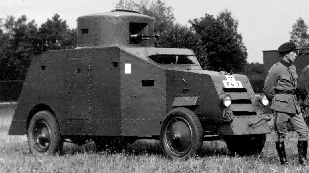 Pansarbil m/25