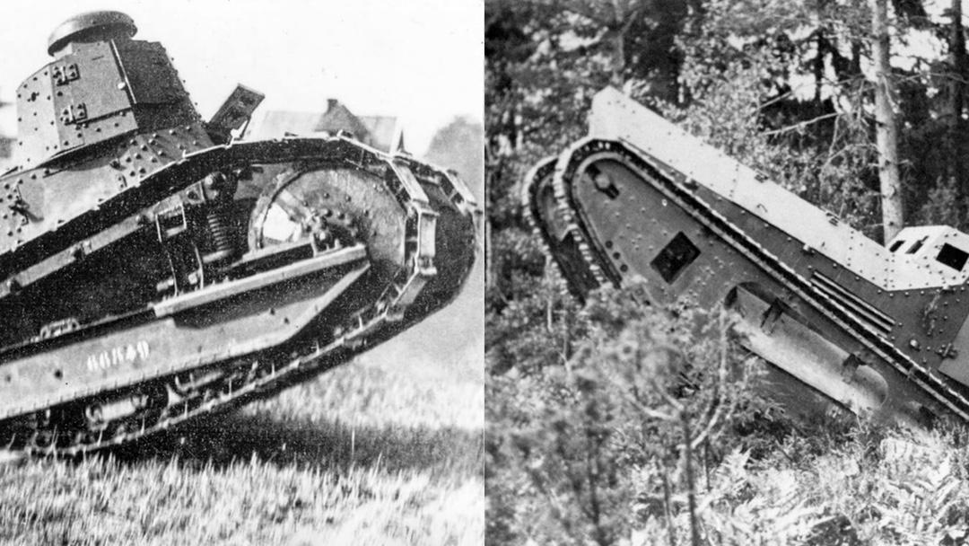 Christer Baadstöe berättar om Sveriges första stridsvagn och svenskt pansars pionjärtid