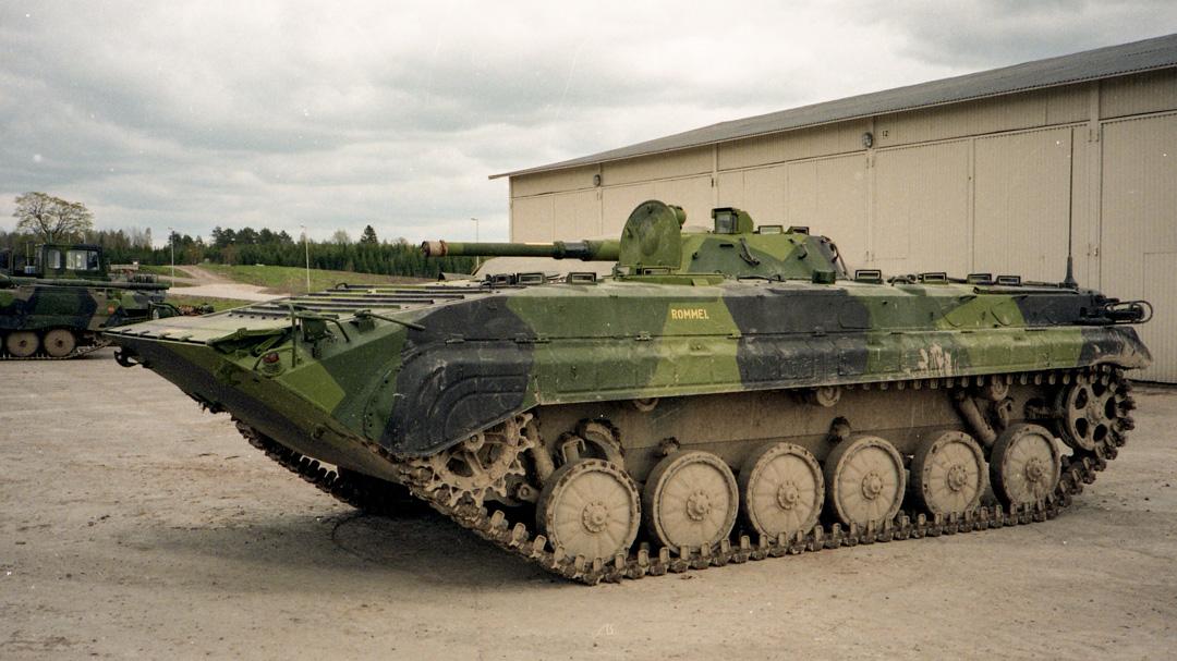 Pbv 501 (utvärderingsvagn) Foto: Kjell Svensson