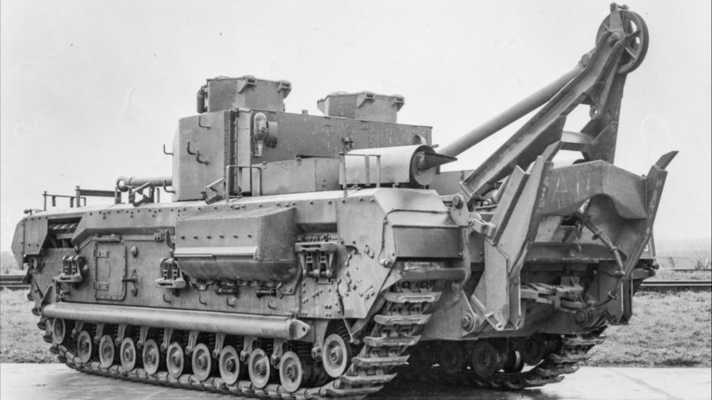 Churchill ARV Mk II (EJ SVENSK VAGN!) Foto: IWM, UK