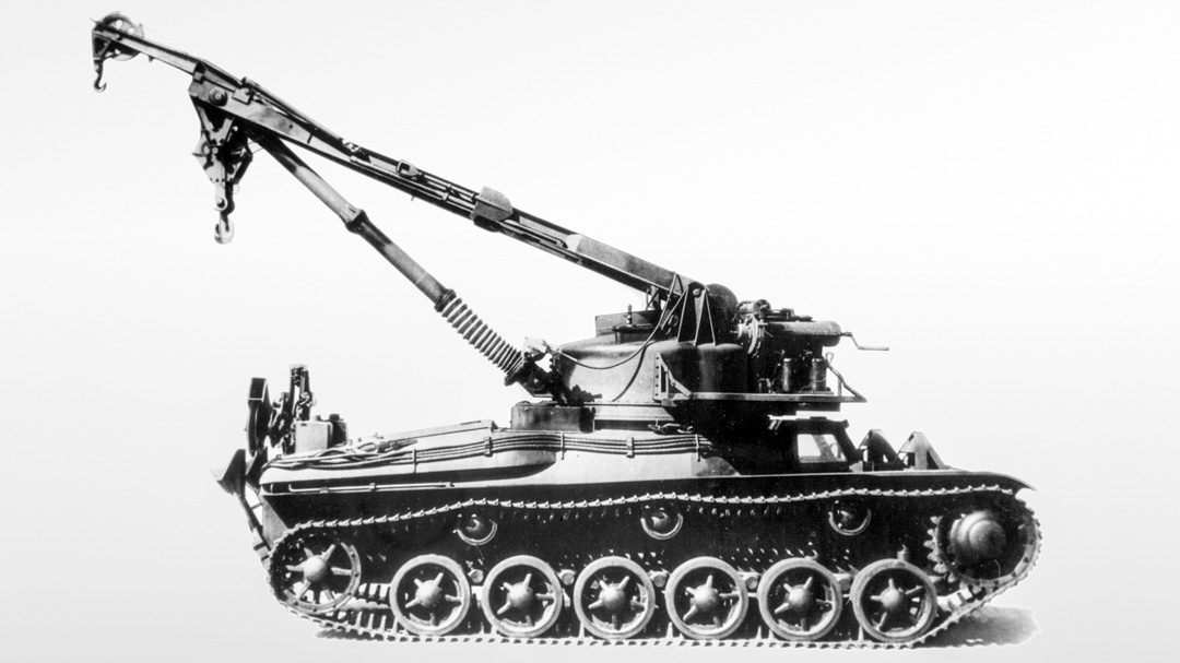 Fordonsprofil: Bärgningsbandvagn m/43