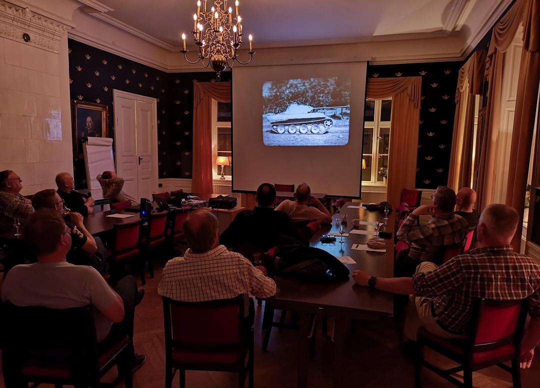 Pantherfilmen visades som seden bjuder. Foto: Thorleif Olsson