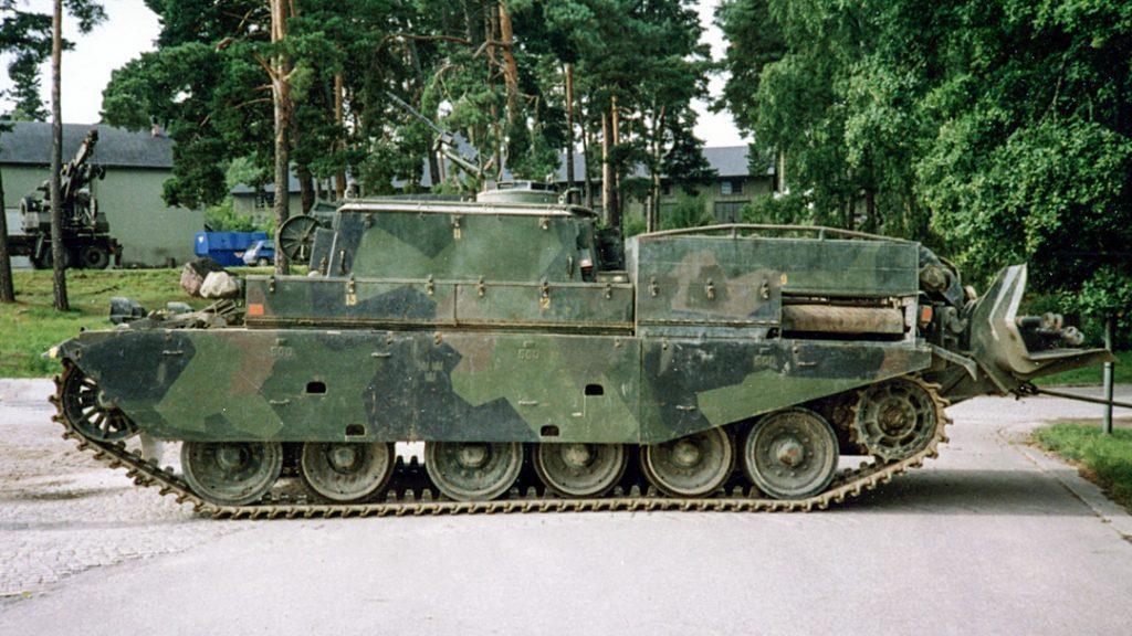 Bgbv 81A, P 10, 1992. Foto Kjell Svensson