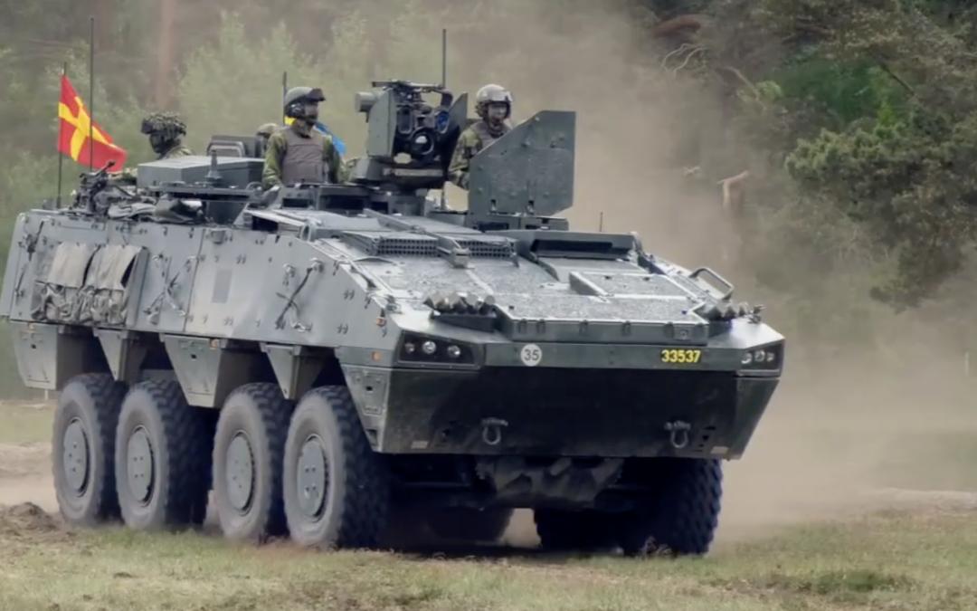 Filmklipp från P 7 Regementets dag 2019